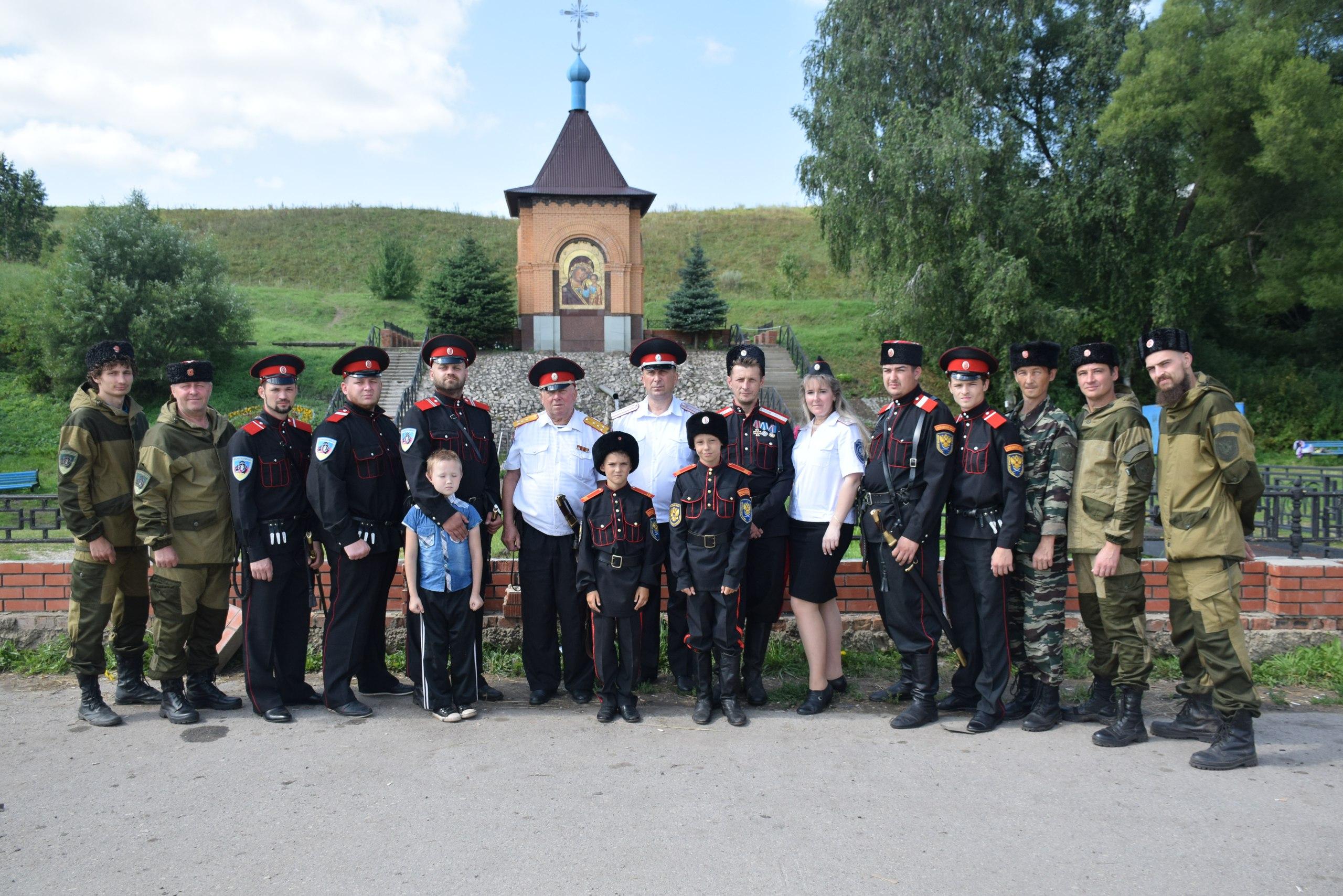 Согласно старым казачьим традициям