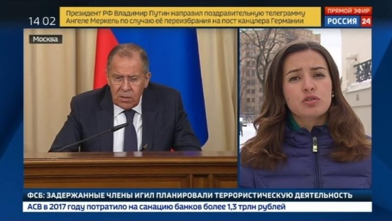 Новости на «Россия 24» • Лавров: для Лондона подозрение - царица доказательств