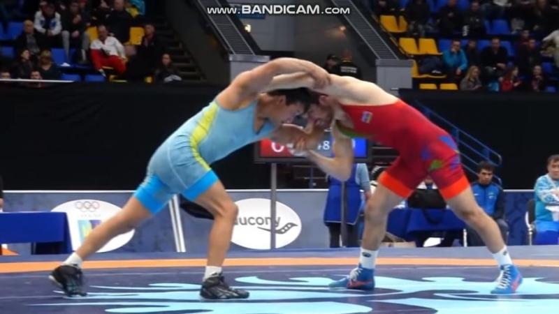 Киевский 2018, 1/8 final - Murtuz Müslümov - D. Toleukenov (KAZ) (10:0)