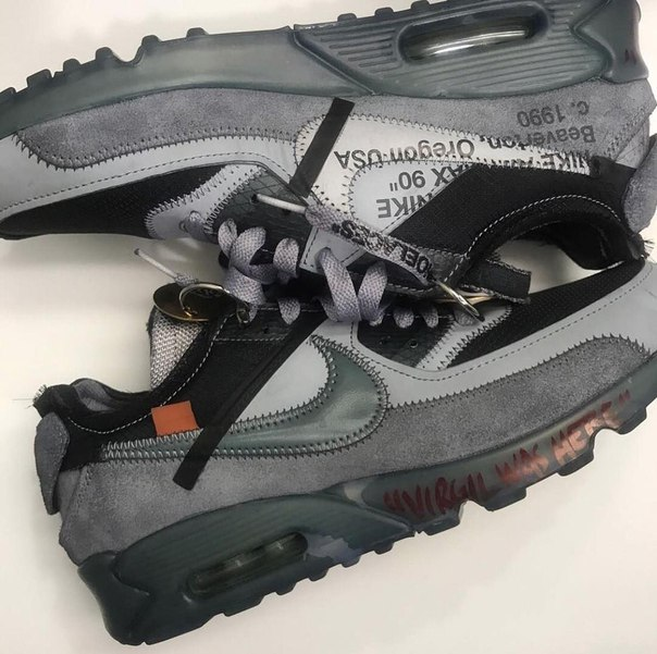 Virgil Abloh x Nike Air Max 90's Second Coming👀