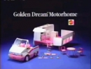 """Barbie Golden Dream Motor Home from MATTEL. Commercial 1993. Старая реклама Барби """"Дом на колёсах"""""""