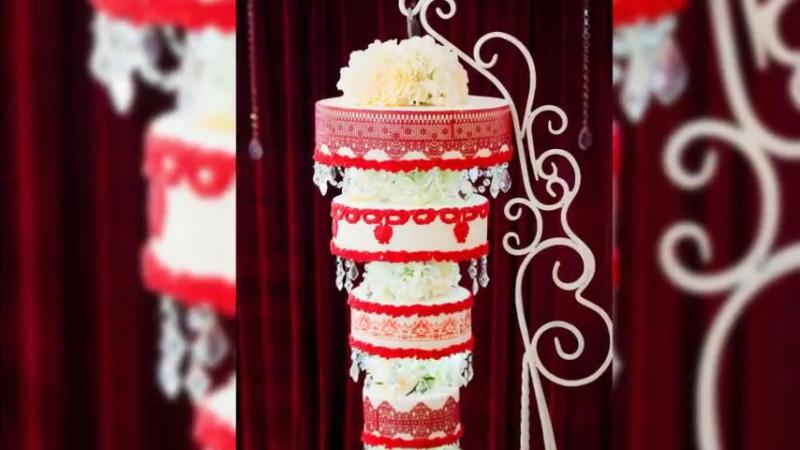 Торт люстра Марины Алдохиной