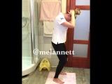Для вашей спины, шеи и плеч шикарное простое остеопатическое упражнение. (Melannett)