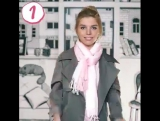 5 способов как завязать шарф