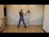 Как правильно исполнять Противовес в парных танцах. (2)