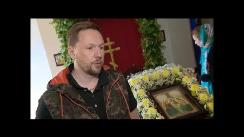 Телепередача Сила веры о семинаре по флористике в нашем храме