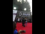 U-KISS - Red Carpet of 'Star of Asia' - fancam by Алена Кузнецова (20.08.17)