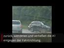 Filmt alles mit Videoaufnahmen einer Autofahrerin auf der A1 bei Köln zeigen schockierende Szenen Nach einem schweren Unfall a