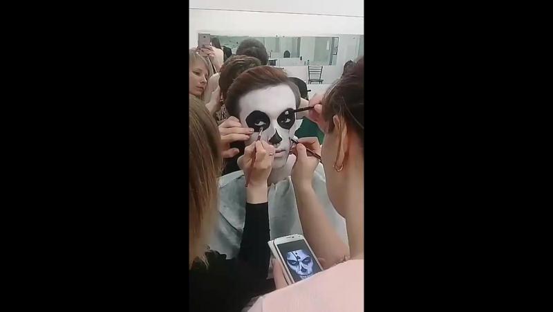 Подготовка к хеллоуин