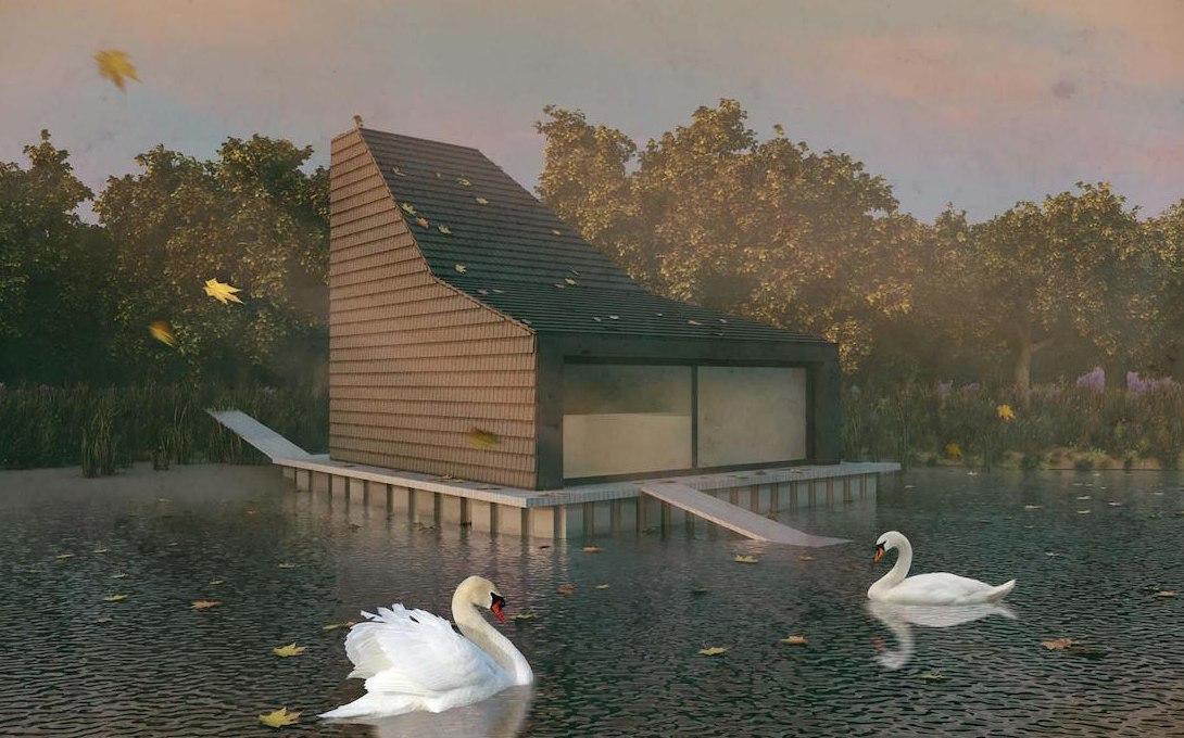 Депутат Госдумы готов сам построить домик для лебедей за 4 миллиона.