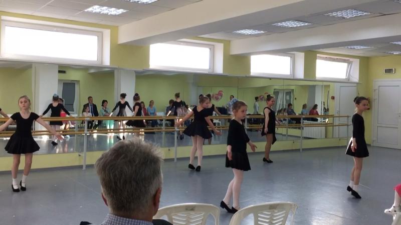 Русский танец Карусель Открытый урок ХК КРАСА старшая группа