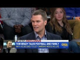 Tom Brady on showing fans a different part of my life