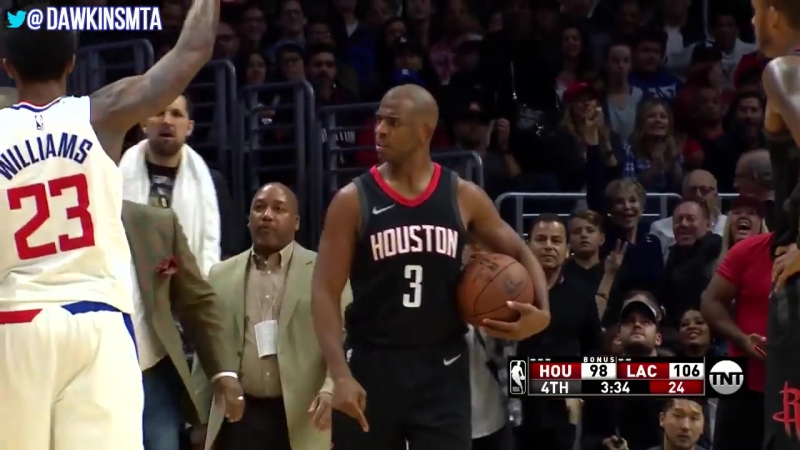 Rockets At Clippers Full BAD BLOOD Play 2018.01.15 - CHAOS in Chris Paul Return