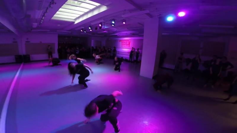 Ashlé Dawson- Contemporary Floorwork Highlights @ Broadway Dance Center(2)