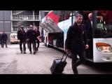 Кубок Первого канала. Прибытие сборной России на арену перед финнами