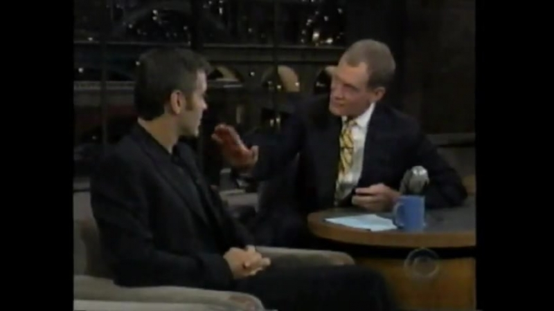 VINTAGE LETTERMAN September 22, 1997 - George Clooney,Bill Cosby (FULL SHOW)