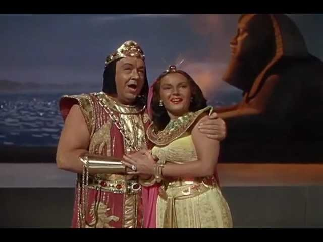 Lauritz Melchior Marina Koshetz perform Aida Finale Act III in the musical Luxury Liner(1948)