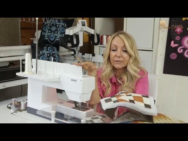 1 урок. Видео курс по обучению квилтинга с нуля. Как выбрать швейную машину для лоскутного шитья.