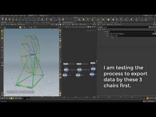 Houdini Tutorial: Constraint multiple objects to points of an animated object