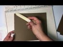 Мастер класс Зимняя или Новогодняя фото папка в форме тэга Скрапбукинг Как сделать зимнюю ФотоПапку