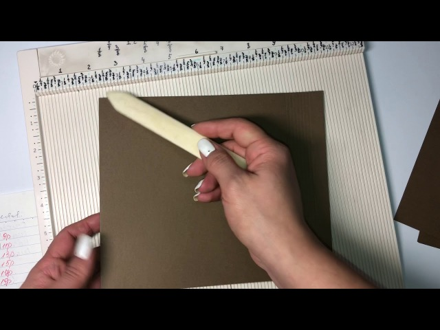 Мастер класс Зимняя или Новогодняя фото папка в форме тэга Скрапбукинг. Как сделать зимнюю ФотоПапку