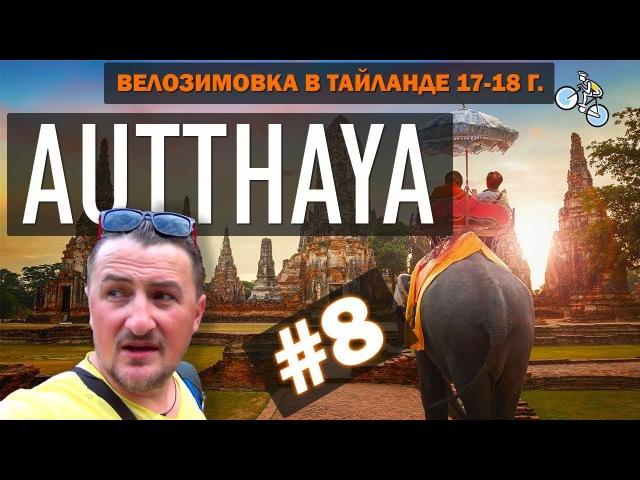 АЮТТАЙЯ (Ayutthaya) ГОРОД ТЫСЯЧИ ХРАМОВ. ГОЛОВА БУДДЫ В ДЕРЕВЕ 8 ВЕЛОЗИМОВКА. ТАЙЛАНД