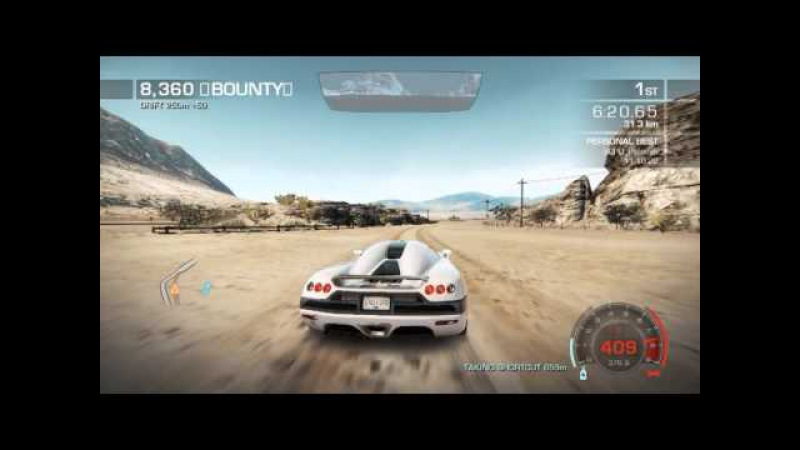 NFS Hot Pursuit Seacrest Tour 11 08 74 World Record