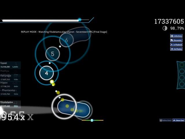 Filsdelama | charon - Seventeen RPG [Final Stage] 98.33 18481922 3xmiss 484pp 1
