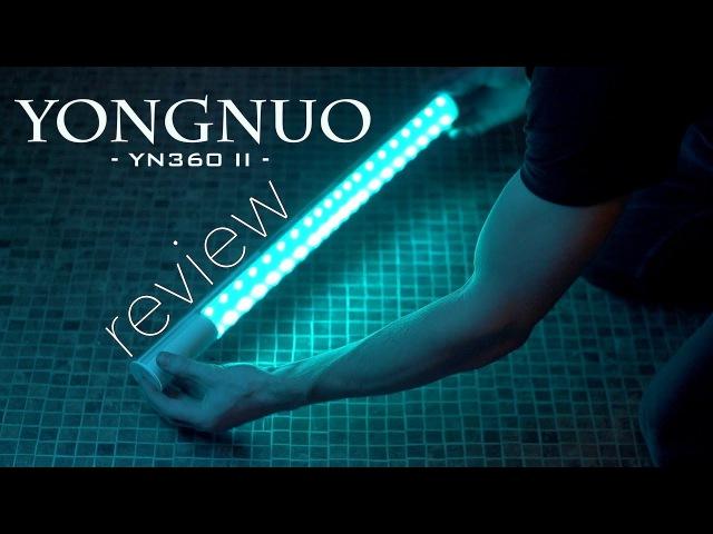 YONGNUO YN360 II REVIEW - BEST CHEAPEST RGB LED light panel - RGB, Daylight, Tungsten