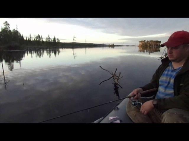 Рыбалка в Карелии Кумское водохранилище Пяозеро 16 24 июня 2015г