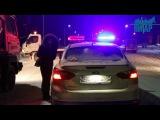 Виновник аварии скрылся, но был задержан Кингисеппскими сотрудниками ГИБДД
