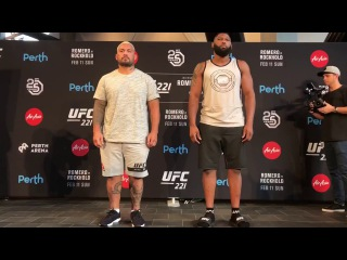 UFC 221: Mark Hunt vs. Curtis Blaydes