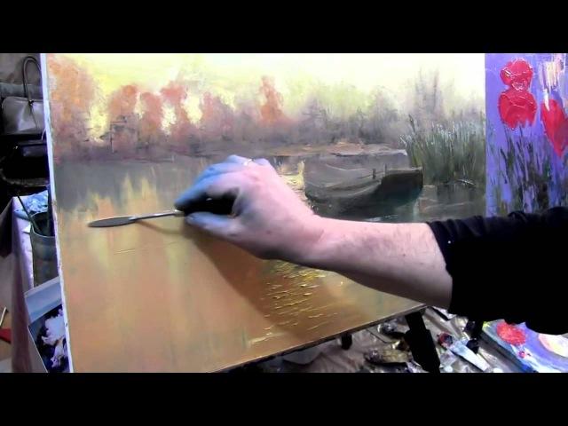 Игорь Сахаров, уроки для начинающих, мастер-классы в Москве, масляная живопись
