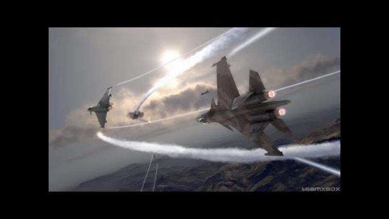 SU 37 vs F 22 Terminator VS Raptor Су 37 против Ф 22
