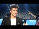 Melodifestivalen 2013: Anton Ewald Interview Begging (2013-03-08)