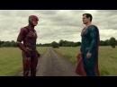 Супермен против Флэша Испытания Скорости Лига Справедливости 2017