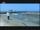 (182) Kim Jong Un Guides Drill for Assessing Swimming Ability of KPA Navy Commanding Officers - YouTube