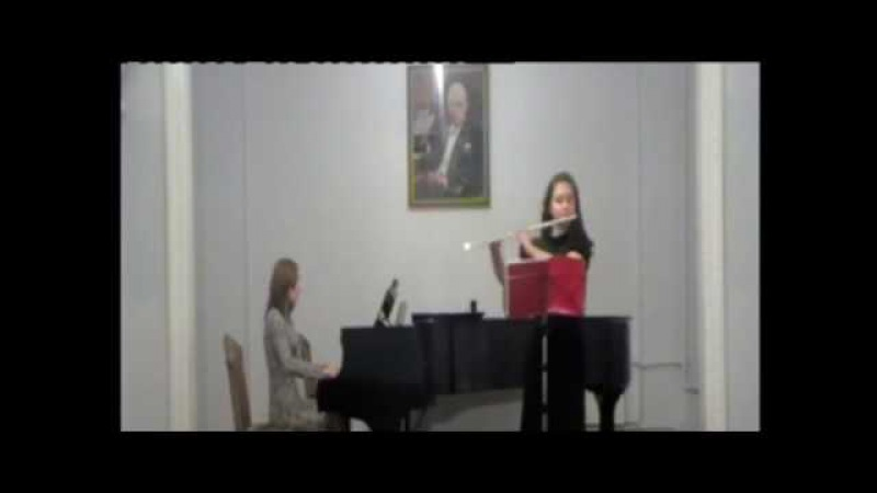 Вольфганг Амадей Моцарт - Концерт - 2 D - dur для флейты 1 часть
