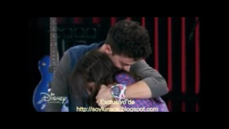 Soy Luna 2 - Matteo canta Stranger y abraza Luna y le dice que nunca la a va dejar Ep 44