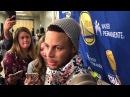 Stephen Curry Postgame Interview Warriors vs Thunder November 22 2017 2017 18 NBA Season