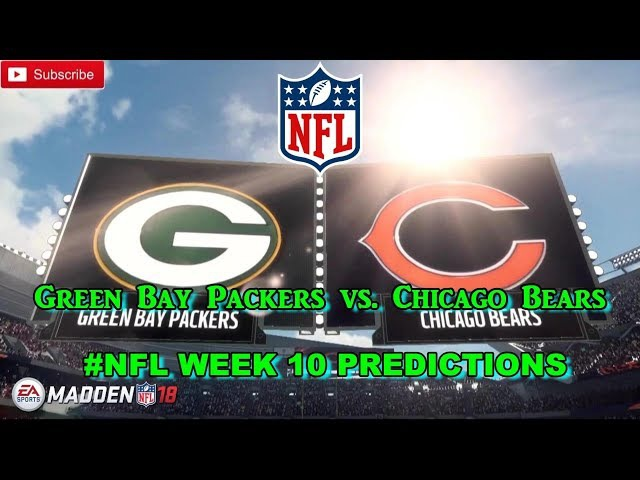 Green Bay Packers vs. Chicago Bears | NFL WEEK 10 | Predictions Madden 18