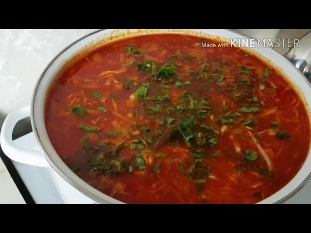 Цыганский борщ по Современному рецепту Цыганка готовит Gipsy kitchen Борщ