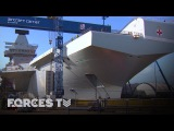 Building Britain's Biggest Warship On Board HMS Prince Of Wales  Forces TV