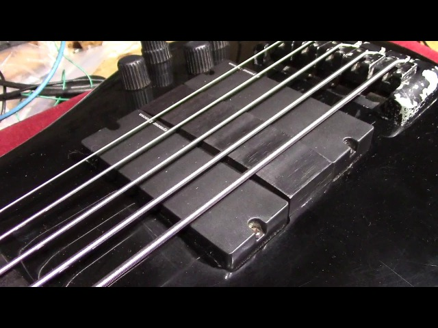Alex Webster (Cannibal Corpse) AW Model Spector 5 String Bass 1