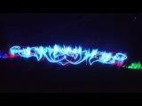 Невероятно красивый фонтан с светомузикою
