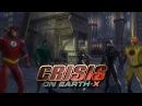 DCUO Team Flarrow Crisis On Earth X Final Battle Flash Arrow Supergirl vs Dark