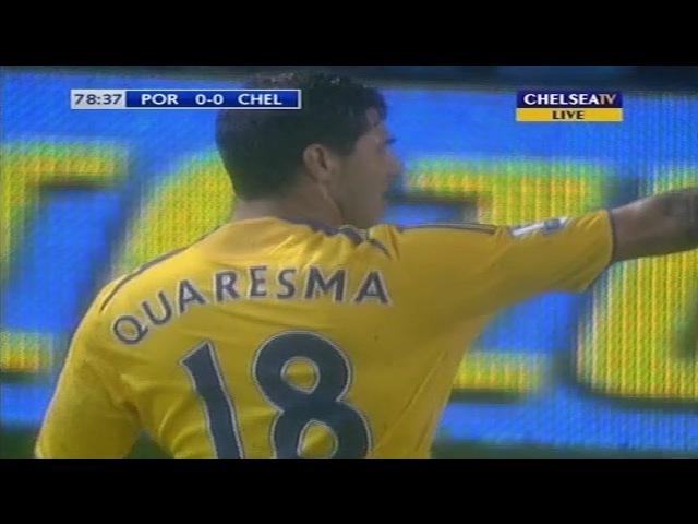 Ricardo Quaresma Vs FC Portsmouth (A) 03/03/2009 HD