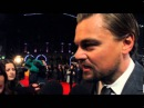 Leonardo DiCaprio interview at The Wolf on Wall Street premiere