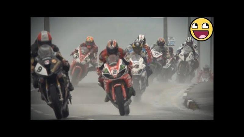 15 CRAZY MINUTES OF PURE ADRENALINE RUSH AMAZING ISLE OF MAN TT MOTORCYCLE STREET RACING