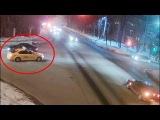 ДТП в Серпухове. Найдётся всё... (видео со звуком). 02 марта  2018г.